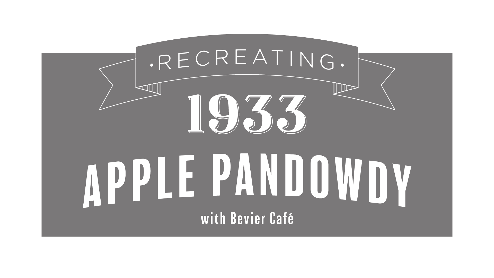 Recreating Apple Pandowdy